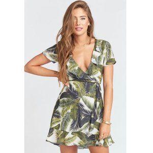 SMYM Winnie Mini Wrap Dress XS